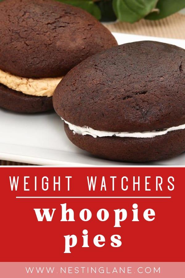 Weight Watchers Whoopie Pies