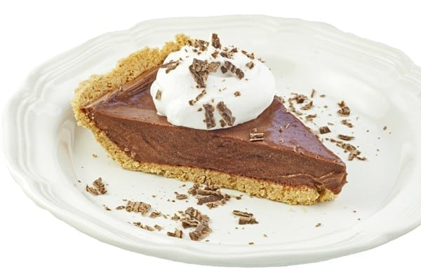 Weight Watchers Double Chocolate Pudding Pie