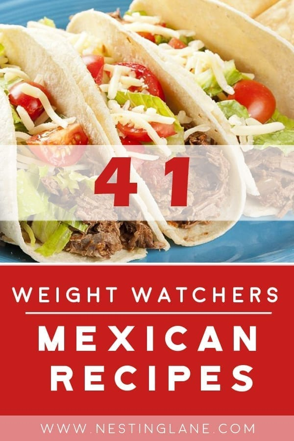 41 Mexican Weight Watchers Recipes
