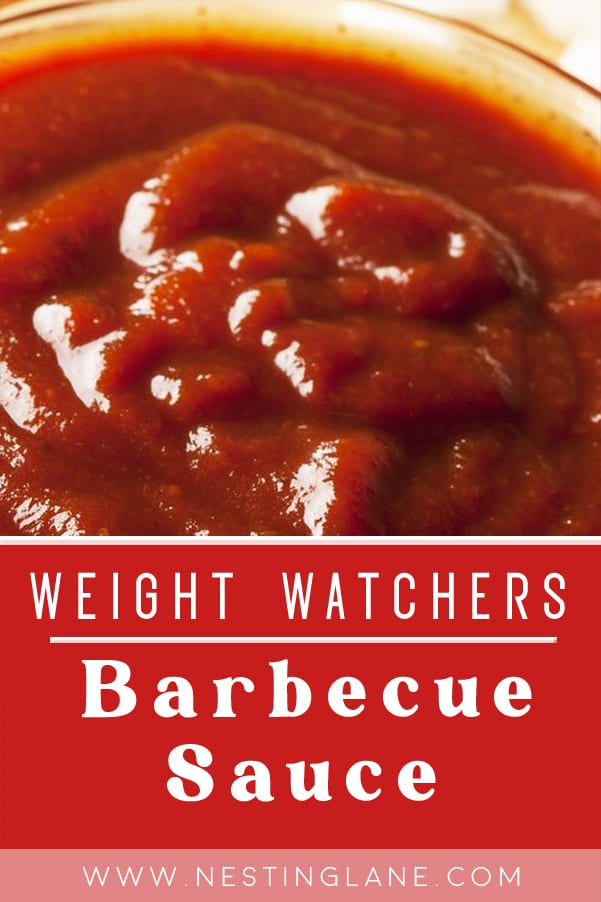 Weight Watchers Barbecue Sauce