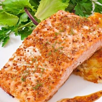 Weight Watchers Brown Sugar Glazed Salmon