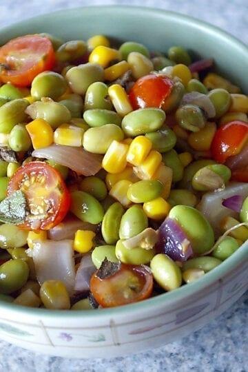 Weight Watchers Edamame Salad