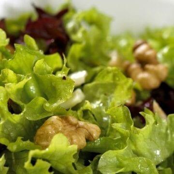 Weight Watchers Escarole Walnut Salad