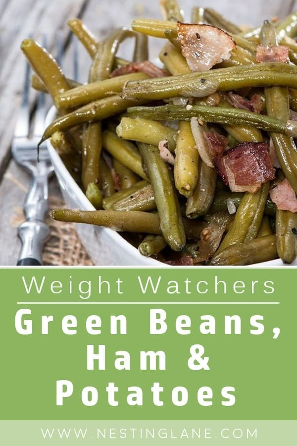 Weight Watchers Green Beans, Ham and Potatoes Slow Cooker