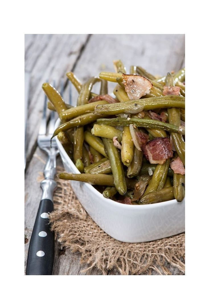 Weight Watchers Green Beans, Ham and Potatoes Slow Cooker Recipe