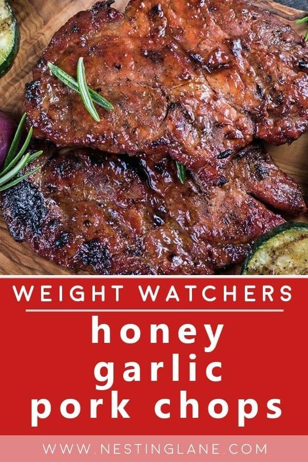 Weight Watchers Honey Garlic Pork Chops