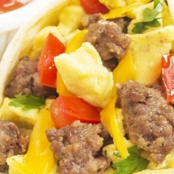 Weight Watchers Southwest Breakfast Burritos