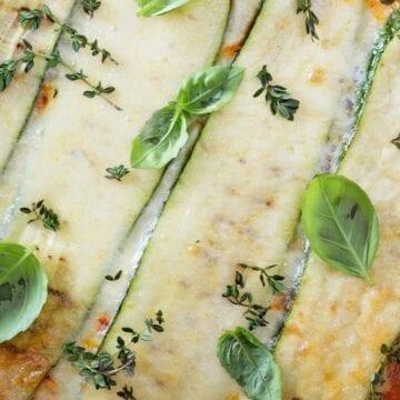 Weight Watchers Zucchini Lasagna