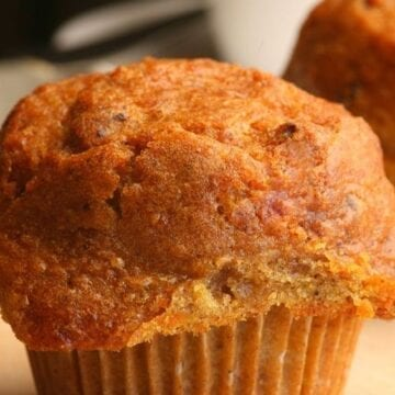 Carrot Cake Muffins with Weight Watchers Points
