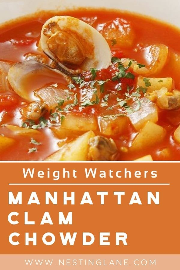Weight Watchers Manhattan Clam Chowder