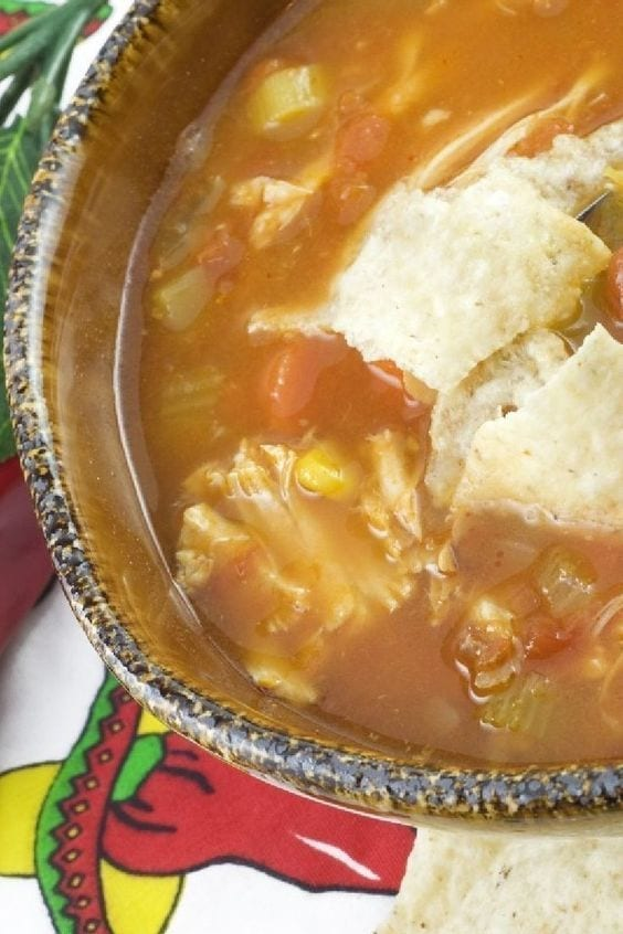 Weight Watchers Quick and Easy Tortilla Soup