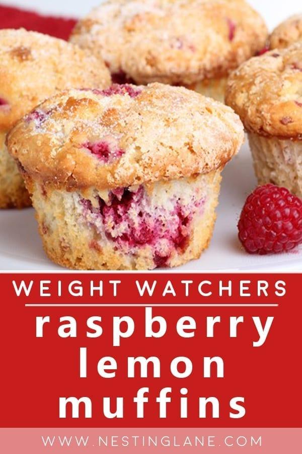 Weight Watchers Raspberry Lemon Muffins