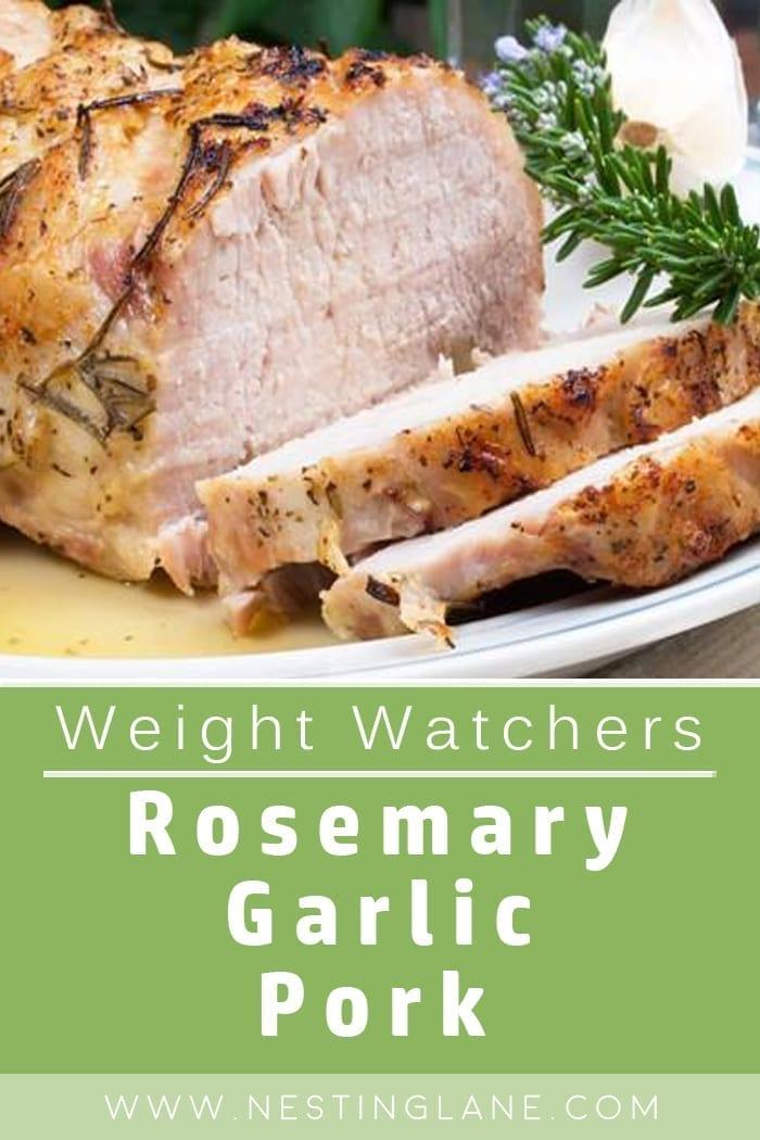 Weight Watchers Rosemary Pork Tenderloin