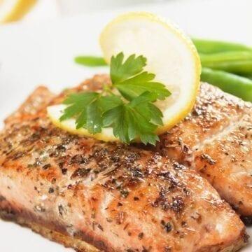 Weight Watchers Simple Salmon