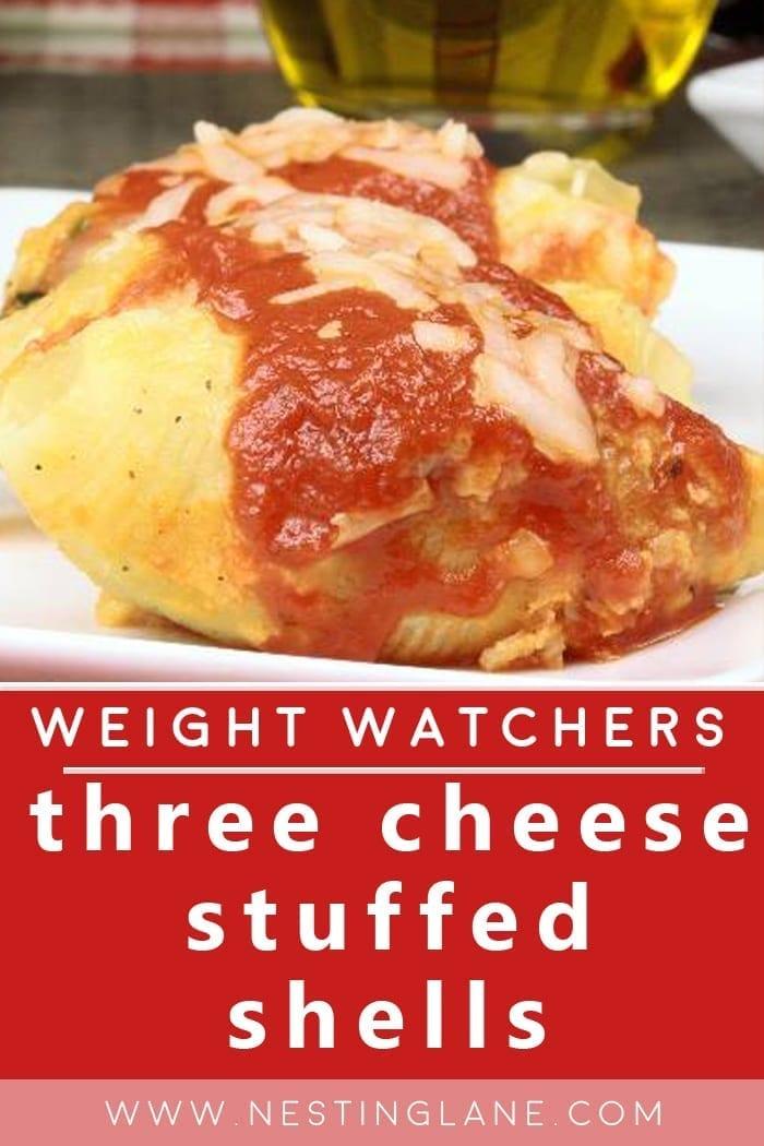 Weight Watchers Three-Cheese Stuffed Shells