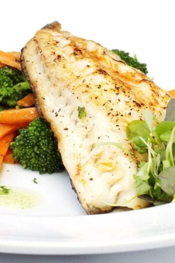 Weight Watchers White Fish In Herbed Butter