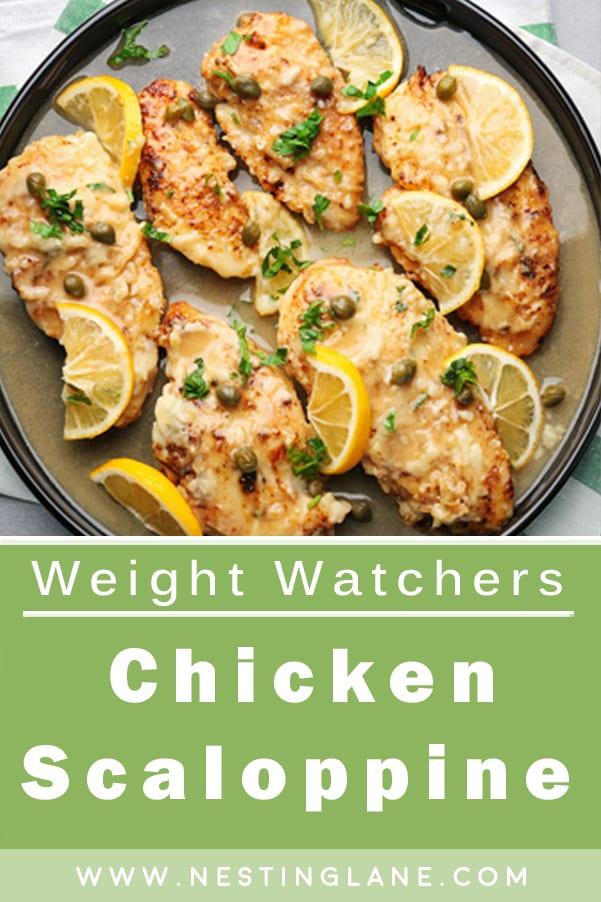 Weight Watchers Chicken Scaloppine