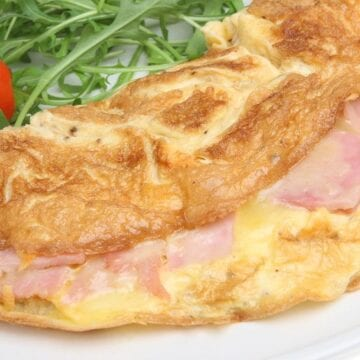 Weight Watchers Ham and Cheese Omelet