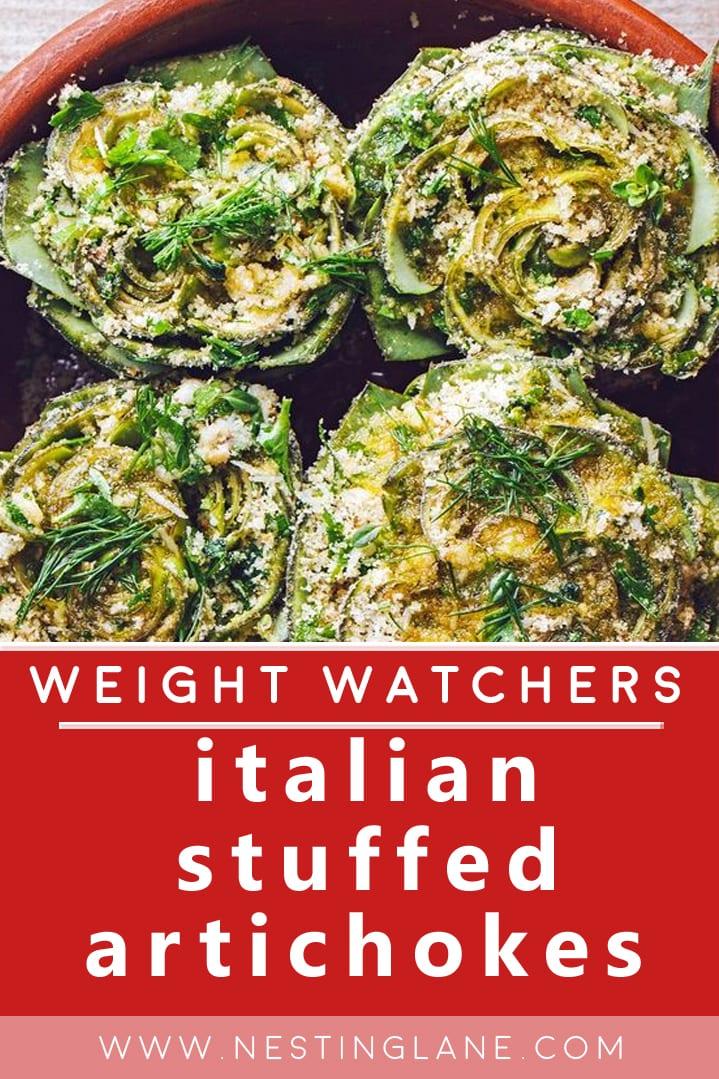 Weight Watchers Stuffed Artichokes