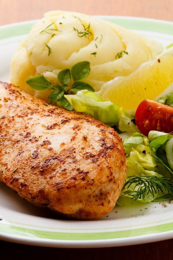 Weight Watchers Lemon Pepper Chicken