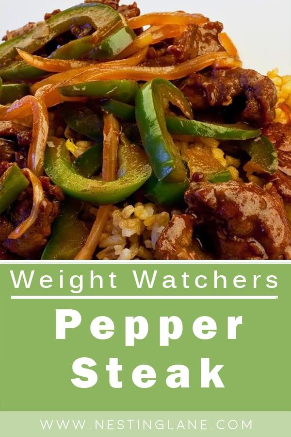 Weight Watchers Pepper Steak