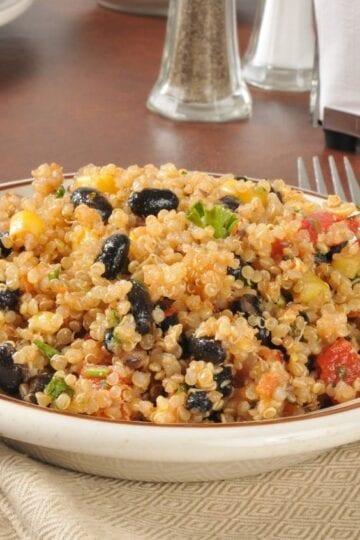 Weight Watchers Spicy Quinoa Salad