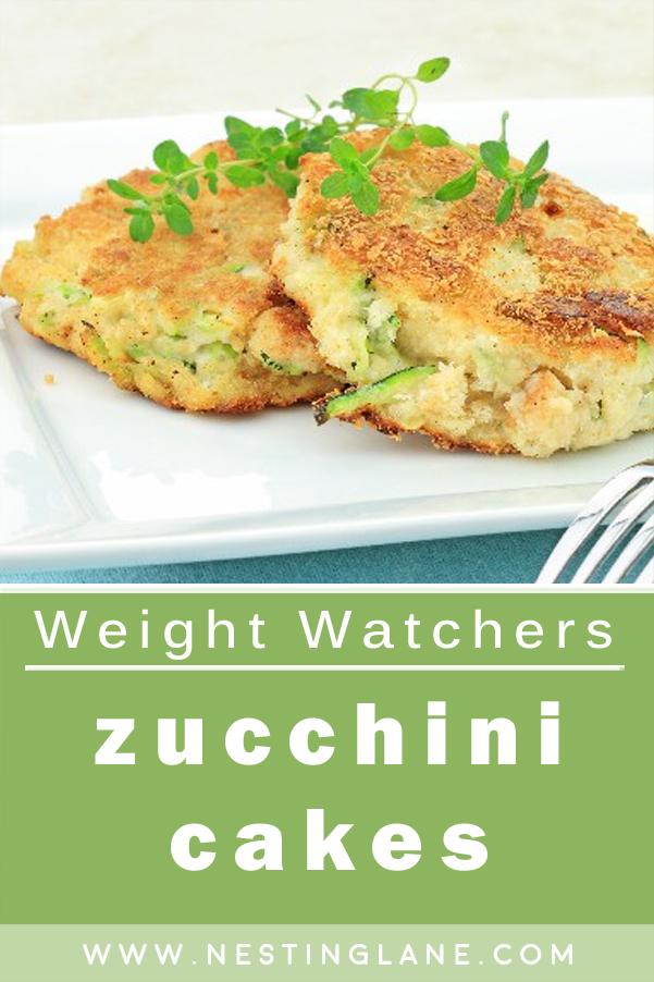Weight Watchers Zucchini Cakes