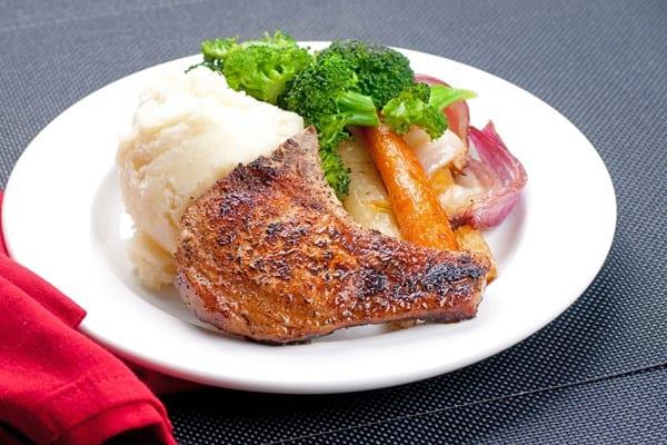 Weight Watchers Smoky Pork Chops