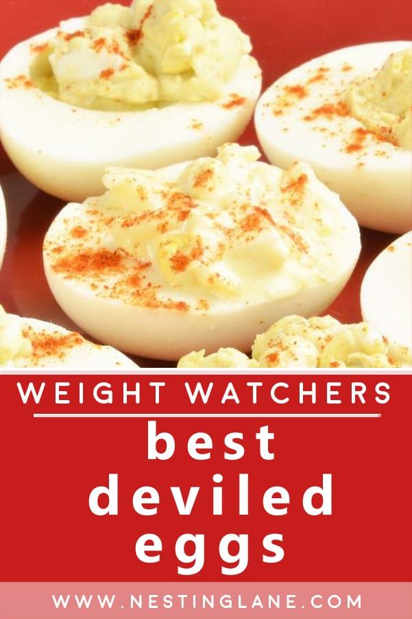 Weight Watchers Best Deviled Eggs