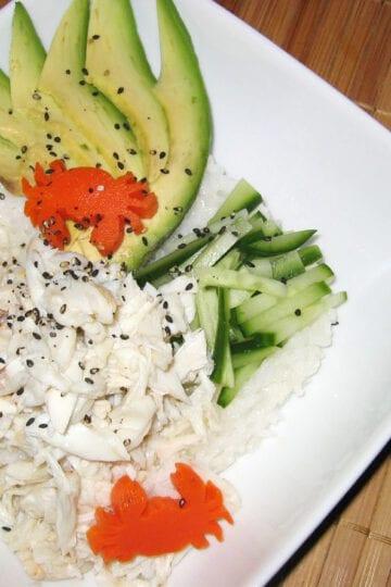 Weight Watchers California Roll Salad