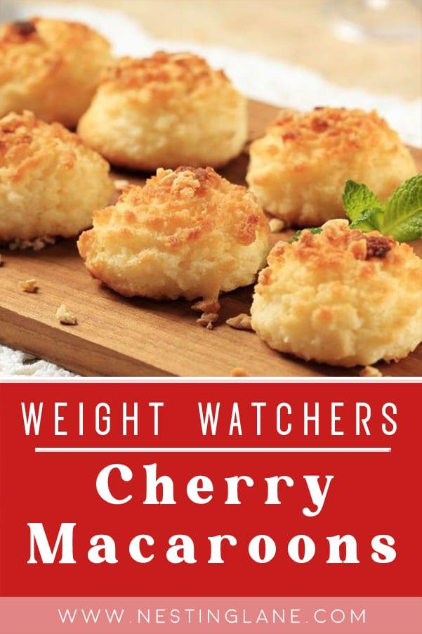 Weight Watchers Cherry Macaroons
