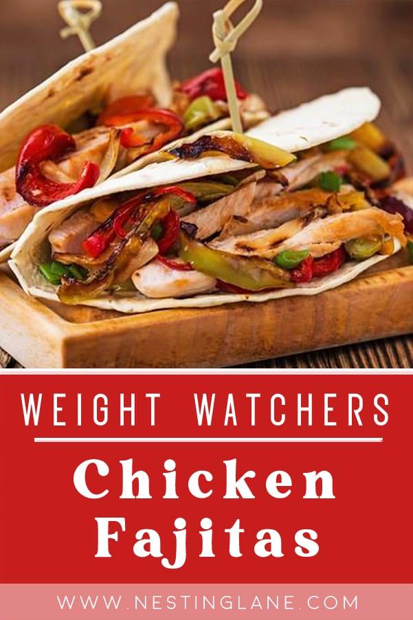 Weight Watchers Stir-Fry Chicken Fajitas