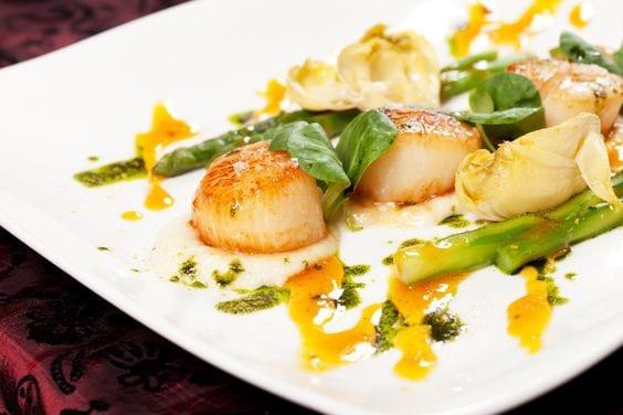 Weight Watchers Garlic Lemon Scallops Recipe