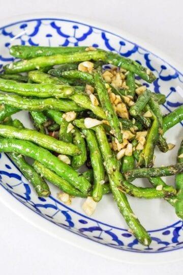 Weight Watchers Stir-Fry Green Beans