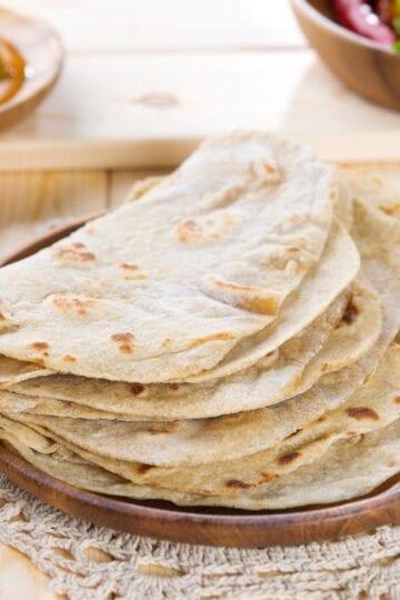 Weight Watchers Homemade Flour Tortillas