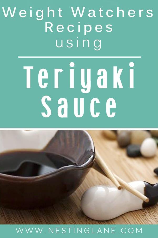 Weight Watchers Recipes Using Teriyaki Sauce