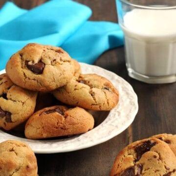 Weight Watchers Mini Chocolate Chip Cookies