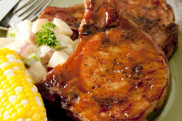 Weight Watchers Brown Sugar Pork Chops