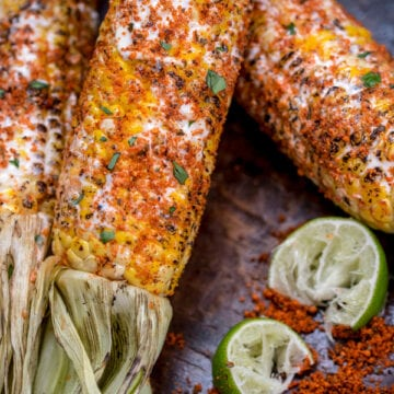Weight Watchers Grilled Mexican Street Corn - Elote