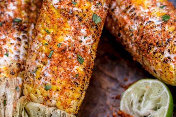Weight Watchers Mexican Street Corn - Elote