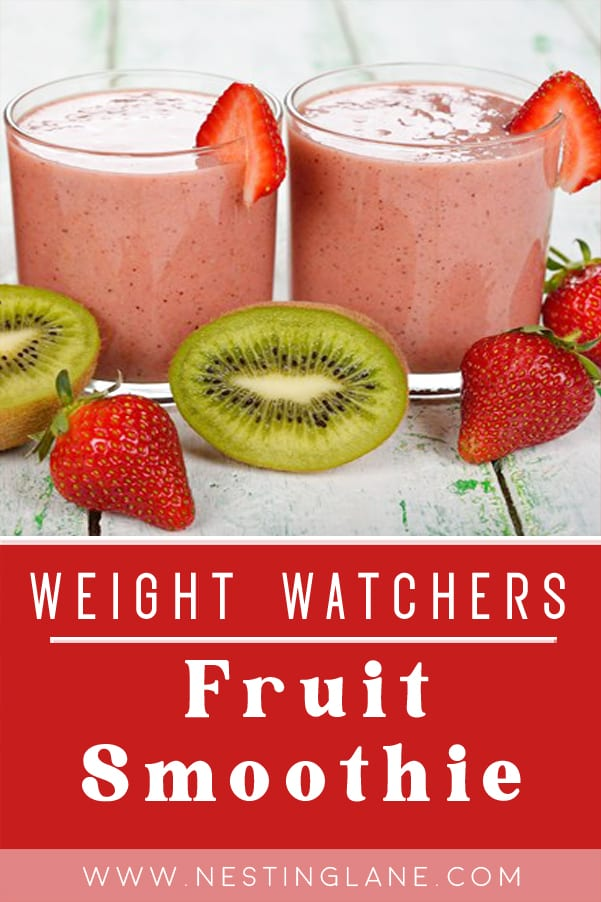Weight Watchers Fruit Smoothie