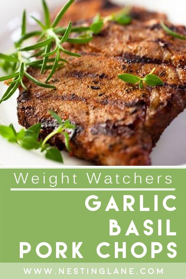 Weight Watchers Garlic Basil Pork Chops