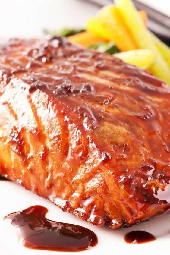 Weight Watchers Grilled Teriyaki Salmon