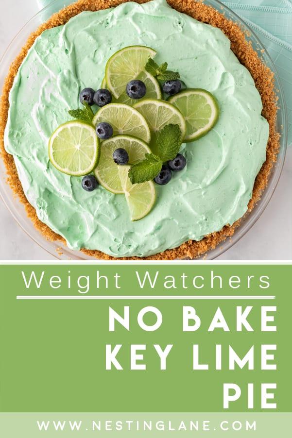 Weight Watchers No-Bake Key Lime Pie