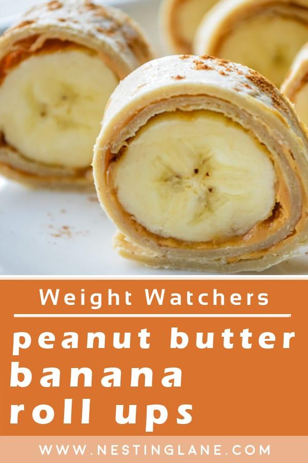 Weight Watchers Peanut Butter Roll Ups