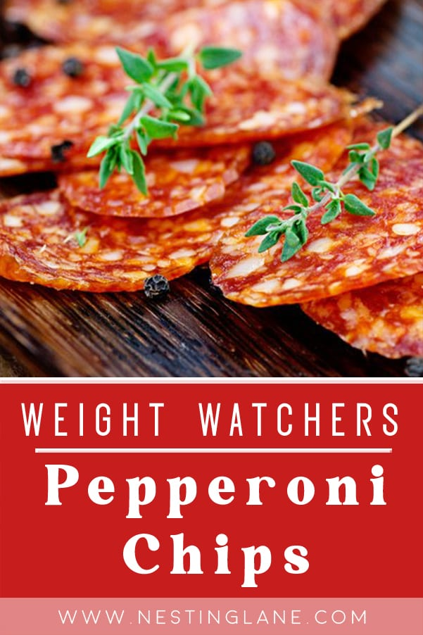 Weight Watchers Pepperoni Chips