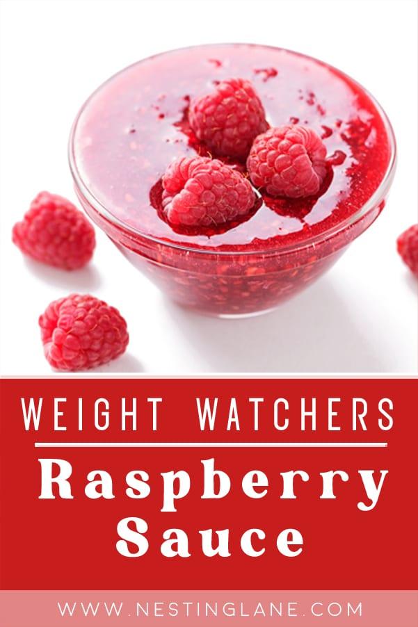 Weight Watchers Raspberry Sauce