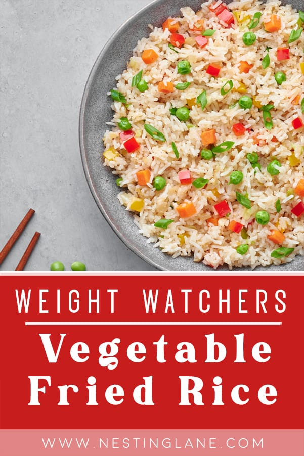 Weight Watchers Vegetable Fried Rice