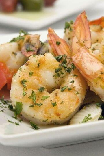 Weight Watchers Quick Herb Shrimp