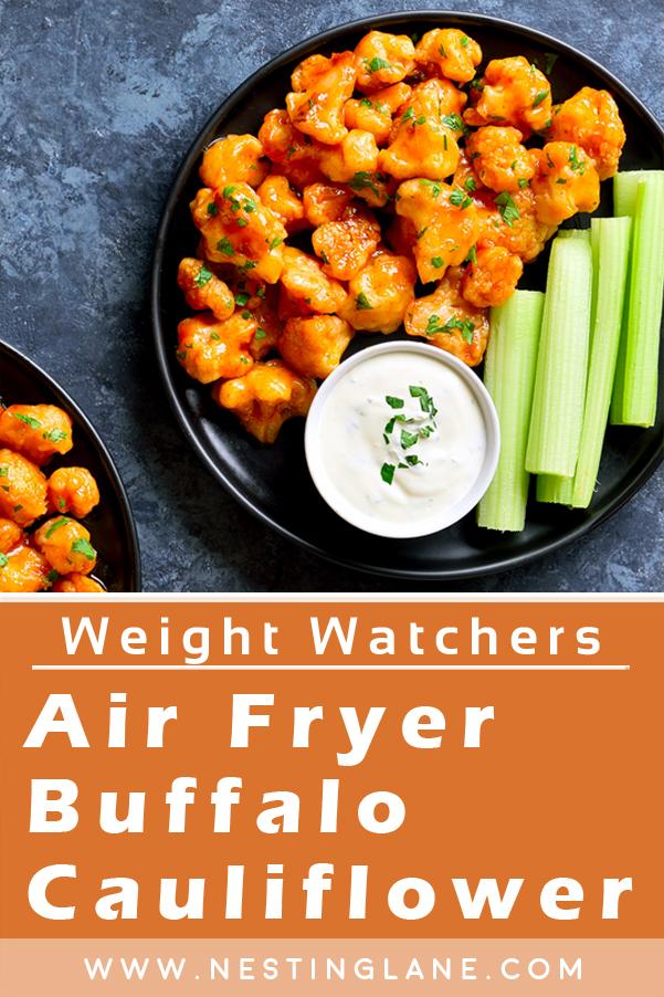 Air-Fryer Weight Watchers Buffalo Cauliflower